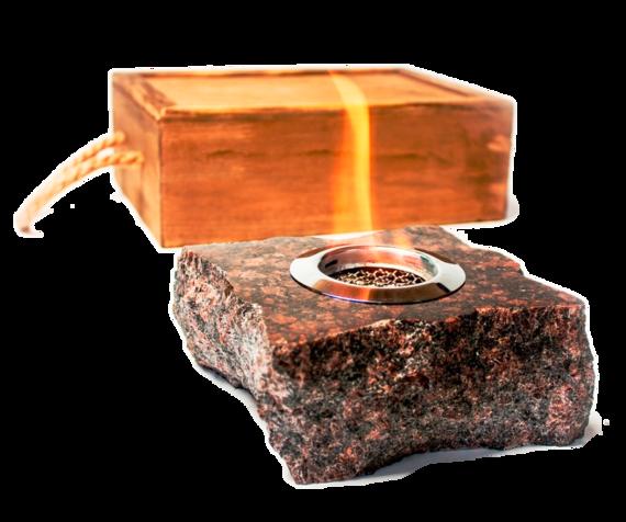 Подарочный биокамин ZeFire Rock (в наличии и под заказ)