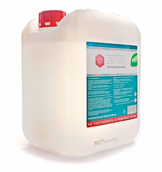 Биотопливо ZeFire Premium 5 литров (двойная очистка) (в наличии и под заказ)