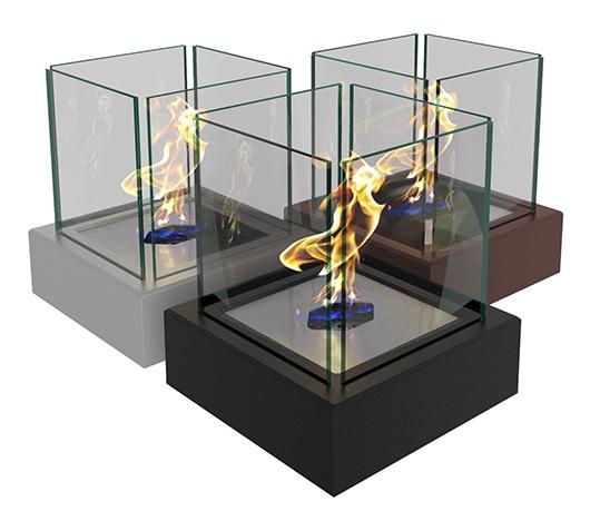 Биокамин ZeFire  Quant metall (в наличии и под заказ)