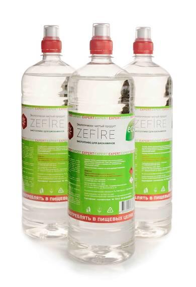 Биотопливо ZeFire Expert 1,5 литра (в наличии и под заказ)